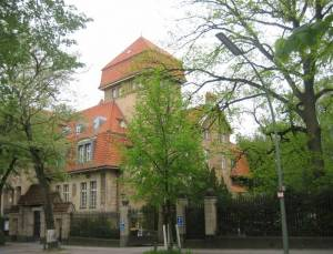 Ehemaliges Rumänisches Kulturinstitut (2010) Rumänisches Kulturinstitut, Berlin-Grunewald, Herthasee