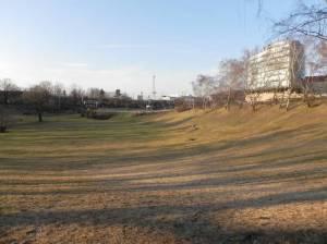 Friedenthalpark (2012) Friedenthalpark, Berlin-Grunewald, Halensee, A100