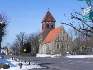 Kirche in Wensickendorf (2013) 66-Seen-Wanderweg, Etappe Briesetal, Briesetal, Biberbauten, Waldschule, Briesesee