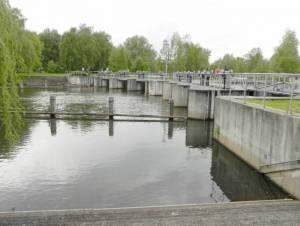 Wehrgruppe Leibsch (Foto: 2013) Wehrgruppe Leibsch, Unterspreewald, Dahme Umflutkanal, Spree und Puhlstrom