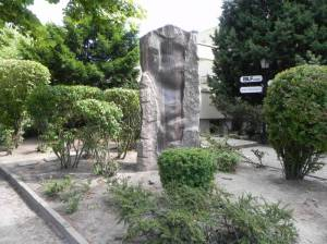 Granitstele, Berlin-Dahlem,