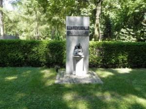 Gedenkstein für die Opfer des Stalinismus (2013) Opfer des Stalinismus, Berlin-Marzahn, Parkfriedhof Marzahn