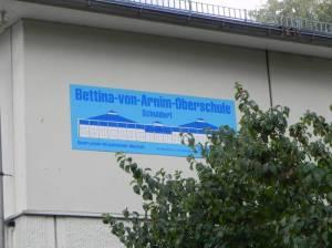 Bettina-von-Arnim-Schule (2013) Bettina-von-Arnim-Schule, Märkisches Viertel, Integrierte Gesamtschule