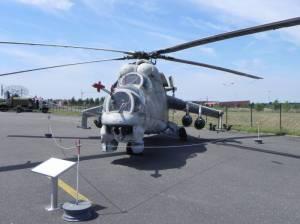 Kampfhubschrauber Mil Mi-24 (2013) Mil Mi-24, Kampfhubschrauber, Luftwaffenmuseum