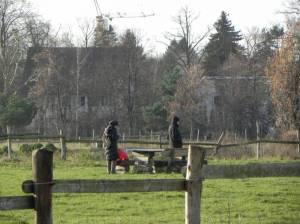 Domäne Dahlem, Park mit landwirtschaftlicher Nutzfläche