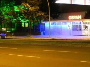 Osram-Werke an der Nonnendammallee (2012) Osram, Berlin-Siemensstadt,