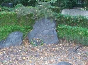 Grabstelle von Karl Heinz Pepper auf dem Friedhof Dahlem (2013) Karl Heinz Pepper, Berlin-Dahlem, Friedhof Dahlem