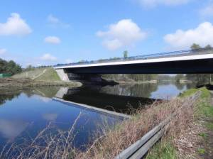 Autobahnbrücke Hohenschöpping (2014) Autobahnbrücke Hohenschöpping, Velten, Oder-Havel-Kanal, Zum Weißen Schwan