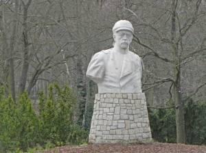 Bismarckdenkmal (2014) Bismarck, Berlin-Wannsee, Hafen Wannsee
