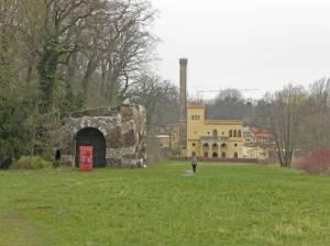 Muschelgrotte und Meierei (2014) Muschelgrotte, Neuer Garten, Meierei, Schloss Cecilienhof