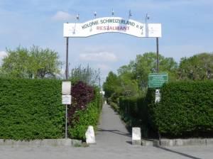 Vier-Kolonien-Weg, Berlin-Lichterfelde, Kolonien Abendruh, Rütli, Sonnenschein und Schweizerland