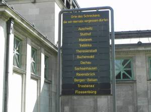 Gedenktafel am U-Bahnhof Wittenbergplatz (2014) Gedenktafel, Berlin-Schöneberg, KaDeWe, Wittenbergplatz
