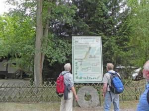 Infotafel am Annafließ Annafließ, Strausberg, Herrensee, Naturschutzgebiet Lange Dammwiesen, Stienitzsee