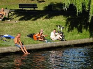 Große Rundfahrt, Sömmeringpark (2016) Große Rundfahrt, Spree, Teltowkanal, Griebnitzsee, Glienicker Brücke, Pfaueninsel, Havel, Regierungsviertel