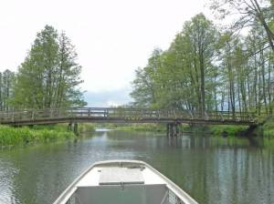 Brücke am Burg-Lübbener Kanal, Burg-Lübbener Kanal, Eichkanal, Untere Alt Zaucher Spree