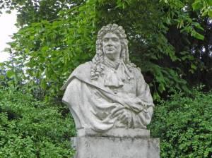 Rüdiger von Ilgen, Berlin-Britz, Schloss Britz, Gutspark