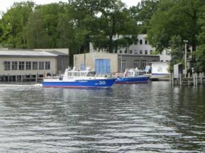Wasserschutzpolizei Baumschulenweg (2014) Wasserschutzpolizei-Ost, Baumschulenweg, Spree