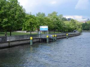 Gotzkowskybrücke, Berlin-Charlottenburg, Spree