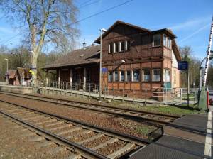 Bahnhof Hangelsberg (2017) Hangelsberg, Bahnhof,