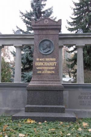 Dorotheenstädtischer Friedhof, Grabstelle von Moses Maximilian Siegfried Borchardt (2008) Max Borchardt, Dorotheenstädtischer Friedhof,