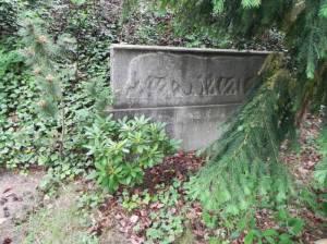 Friedhof Heerstraße, Grab von Alfred Cassirer (2011) Alfred Cassirer, Friedhof  Heerstraße
