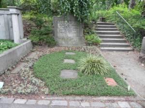 Friedhof Heerstraße, Grab von Hermann Bamberg (2011) Hermann Bamberg, Friedhof Heerstraße
