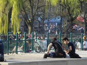 Neukölln, Lohmühlenplatz (2017) Neukölln, Hasenheide, Hermannplatz, Karl-Marx-Straße, Körnerpark, Comeniusgarten . . .