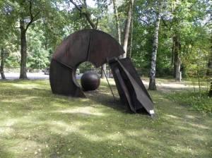 Bernd-Heiliger-Stiftung, Ateliergarten (2014) Bernhard-Heiliger-Stiftung, Kunsthaus Dahlem, Ateliergarten