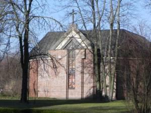 Krankenhaus Herzberge, Kapelle (2014) Krankenhauskapelle Herzberge, Landschaftspark Herzberge, Krankenhaus Herzberge