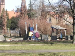 Spielplatz im Bleichröderpark (2014) Bleichröderpark, Berlin-Pankow,