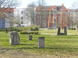 Skulpturengarten, Meditationsraum (2015) Skulpturengarten, Berlin-Schöneberg, Auguste-Viktoria-Krankenhaus