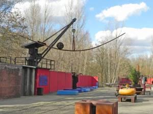 Naturpark Schöneberger Südgelände, Skulpturengarten (2015) Skulpturengarten, Schöneberg, Naturpark Schöneberger Südgelände