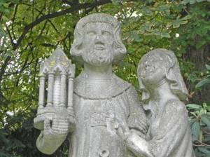 Heiliger Ludwig und seine Frau (2015) Heiliger Ludwig und seine Frau, Berlin-Wilmersdorf, Ludwigkirchplatz