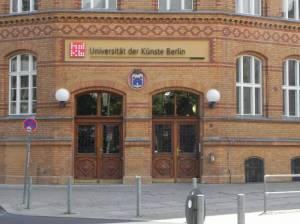 Universität der Künste, Mierendorffstraße (2015) Universität der Künste, Berlin-Charlottenburg,