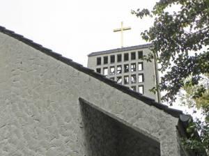 Cathedral of Prayer, Christliches Zentrum Berlin  (2014) Cathedral of Prayer, Berlin-Britz, ehemalige Kirche zum Heiligen Schutzengel