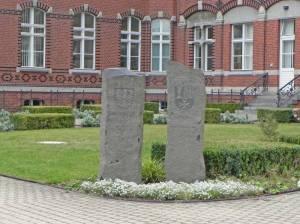Gedenkstein Partnerstadt Wetzlar (2014) Gedenkstein Städtepartnerschaft Wetzlar, Bürgeramt Britz