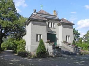 Friedhofskapelle auf dem Friedhof Kaulsdorf (2014) Friedhof Kaulsdorf, Kapelle,