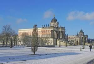 Commungebäude im Park Sanssouci (2016) Rundweg durch Potsdam I, Hermannswerder, Havelufer, Wildpark, Park und Schloss Sanssouci, Potsdamer Innenstadt