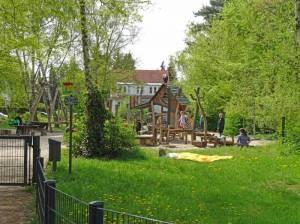 Spielplatz an der Bernecker Straße (2016) Grünzug Alt-Lankwitz,
