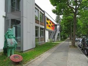 Grundschule am Insulaner (2016) Grundschule am Insulaner, Berlin-Steglitz, Jochen-Klepper-Park, Insulaner, Sembritzkipfuhl