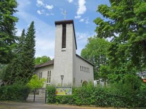 Katholische Kirche St. Johannes Evangelist (2016) Sankt Johannes Evangelist, Berlin-Steglitz,
