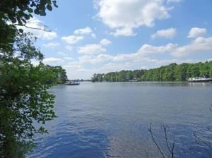 Große Krampe (2016) Wanderweg Große Krampe, Seddinsee und  Krumme Lake, Forst Köpenick, Seddinsee, Große Krampe, Gosener Kanal