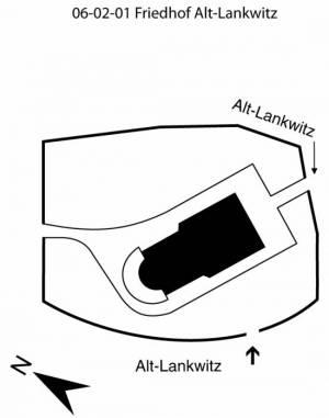 Übersichtsplan Friedhof Alt-Lankwitz,