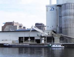 Zementwerk (2014) Zementwerk Berlin-GmbH, Spree, Kraftwerk Klingenberg