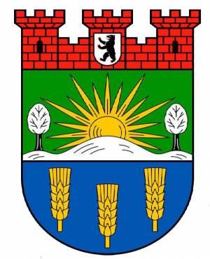 Stadtwappen des Bezirks Lichtenberg Lichtenberg, Rummelsburger Bucht, Karlshorst, Tierpark, Obersee, Wartenberger Feldmark, Gedenkstätte Hohenschönhausen