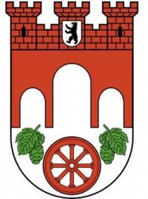 Stadtwappen des Bezirks Pankow Pankow, Schloss Schönhausen, Hobrechtswald, Jüdischer Friedhof, Kulturbrauerei, Karower Teiche