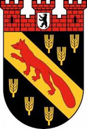 Stadtwappen des Bezirks Reinickendorf Bezirk Reinickendorf, Tegeler See, Märkisches Viertel, Lübars, Flughafen Tegel, Tegeler Forst, Havel, Frohnau