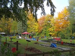 Gemeindepark Lankwitz, Minigolfanlage (2016) Minigolfanlage, Berlin-Lankwitz, Gemeindepark Lankwitz