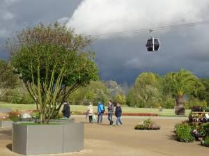 Seilbahn in Marzahn (2017) Seilbahn, Berlin-Marzahn, Kienberg, Gärten der Welt