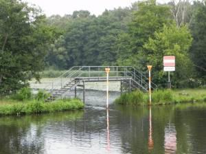 Stufenbrücke am Wernsdorfer See (2014) Rundweg Wernsdorfer See, Wernsdorfer See, Seddinsee, Oder-Spree-Kanal